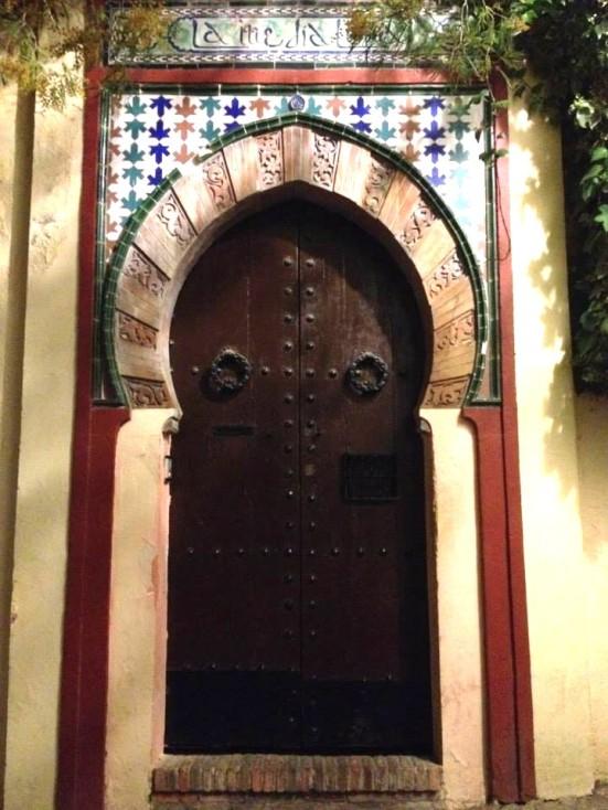 An Albayzin door